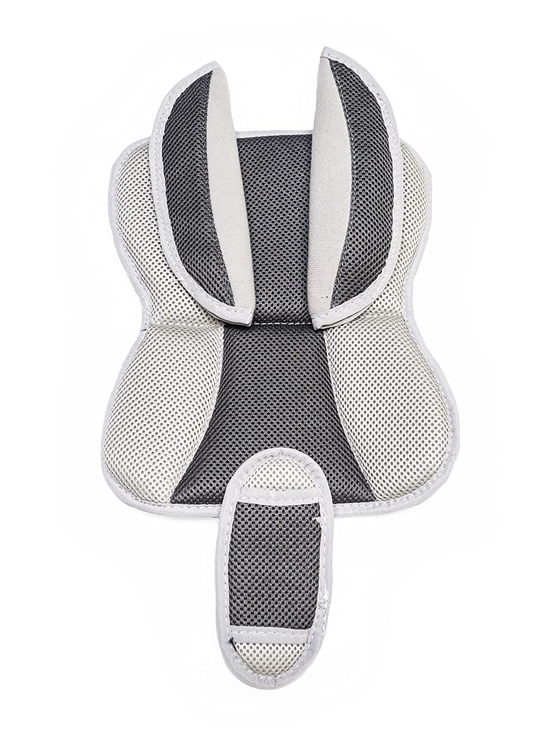 Burley Design Deluxe Trailer Seat Pads, Grey, One Size 950107