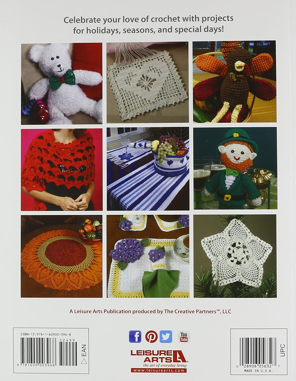 Leisure Arts Treasury of Holiday Crochet Book: Prints