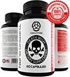 * MUSCLE PHASE DEATH WISH THERMO BURN * For Men & Women - Tri Phase Fat Busting Pills - Thermogenic & Lipogenic Blend,Raspberry Ketones & Green Tea Extract - Oxy Burn Supplement