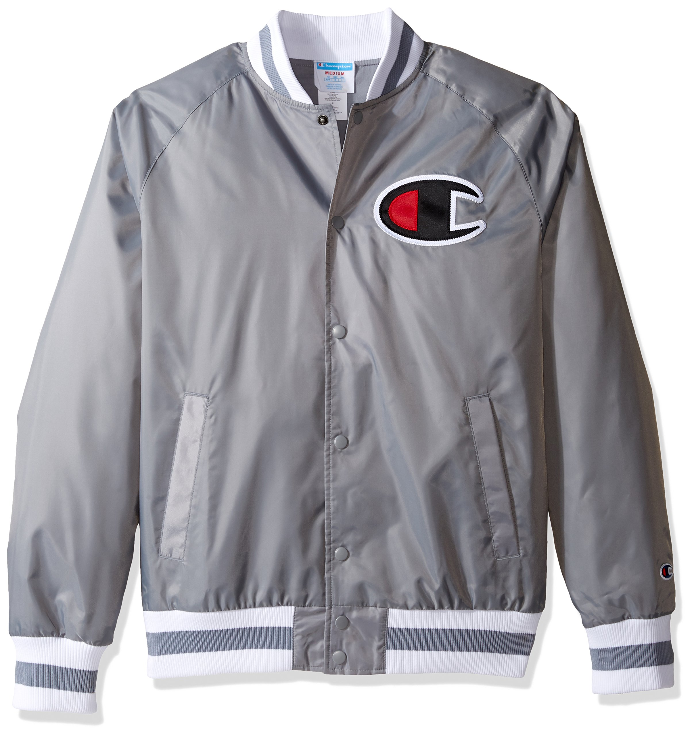 Champion Men's Life Victory Jacket, Concrete, XL