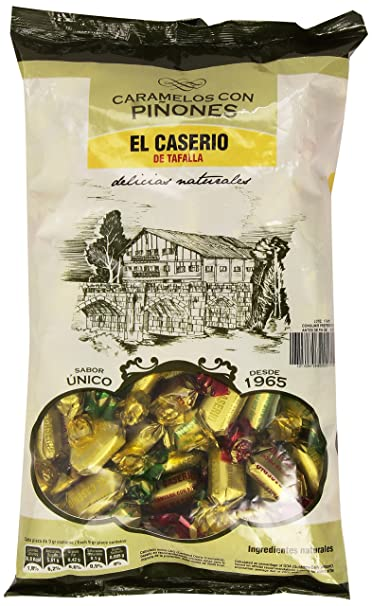 El Caserio - Caramelos con piñones - 1 kg