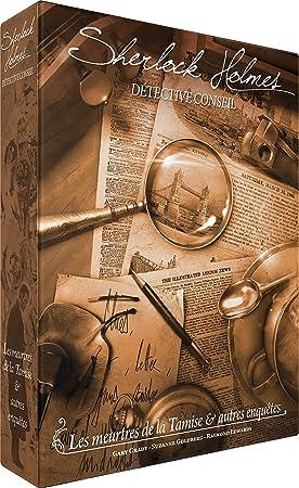 Asmodee – Sherlock Holmes: Les Meutres de la Támesis y Otros enquêtes, scshdc01fr, no precisa: Amazon.es: Juguetes y juegos