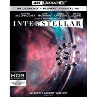 Interstellar (4K UHD + Blu-ray + Digital)