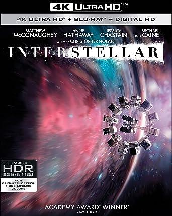 Amazon com: InterStellar 4K UltraHD [Blu-ray]: Interstellar