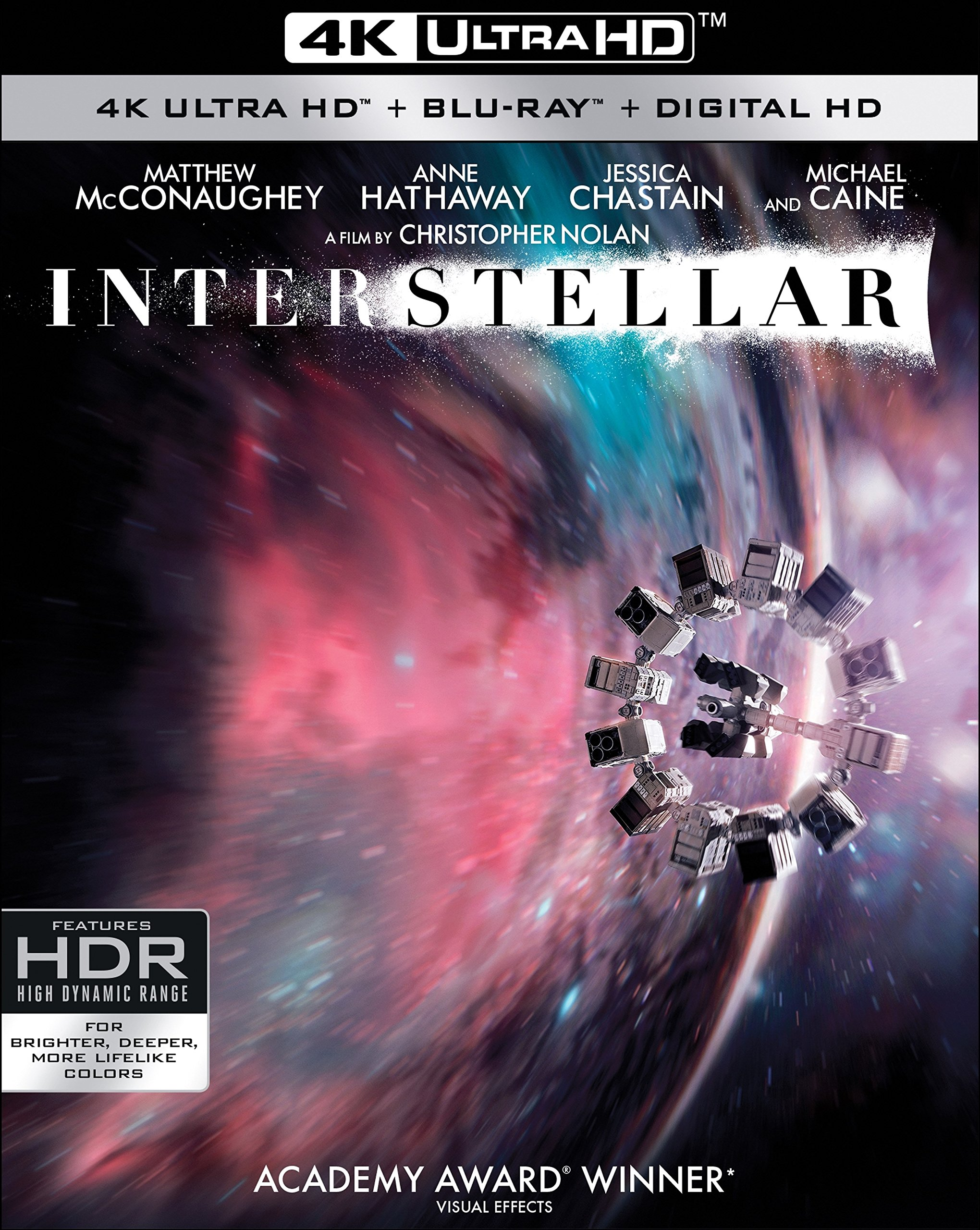 4K Blu-ray : Interstellar (With Blu-Ray, 4K Mastering, 3 Pack, Dolby, AC-3)
