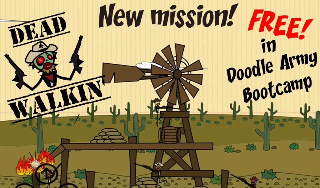 скачать бесплатно игру Doodle Army - фото 5