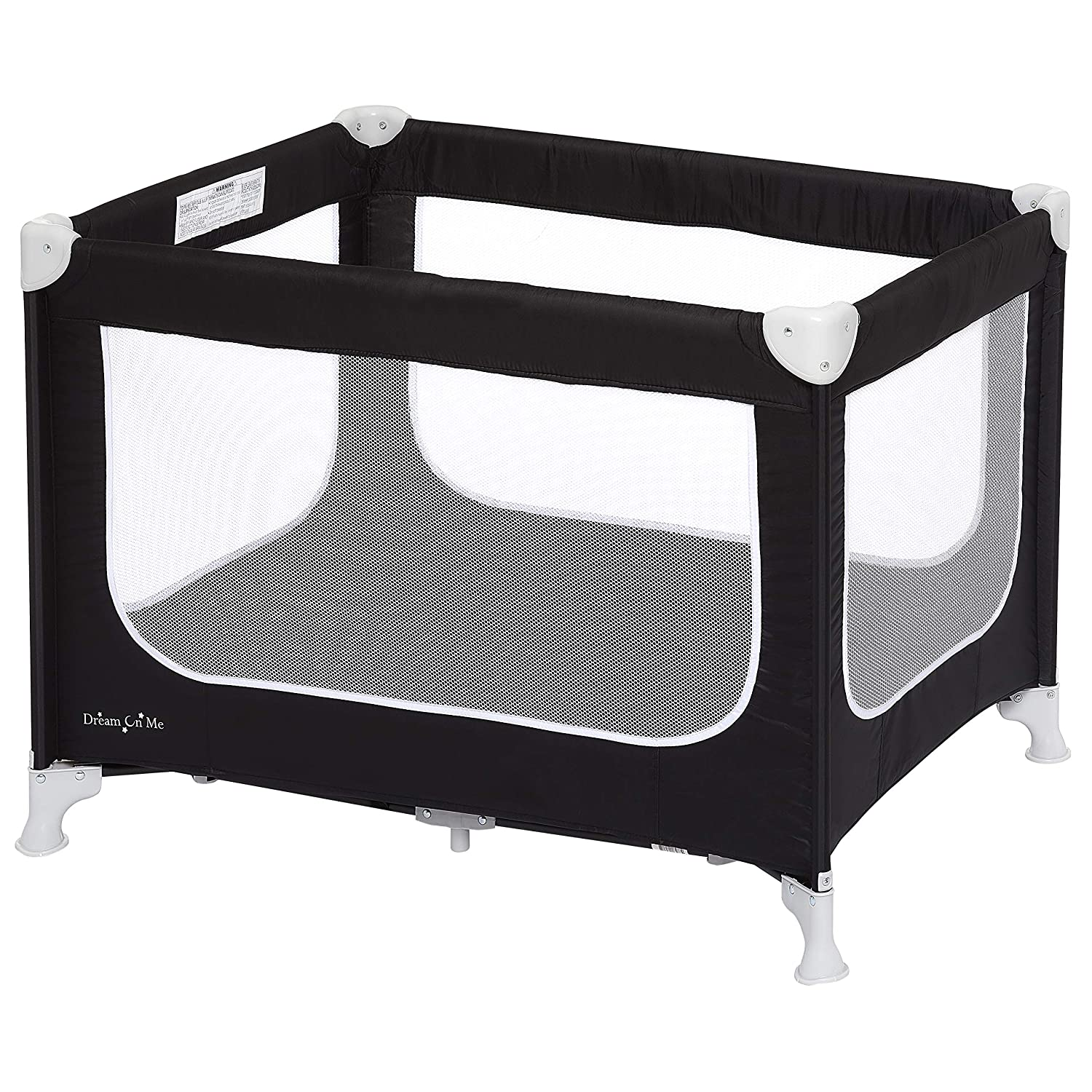 Grey//Green Dream On Me Zodiak Portable Playard