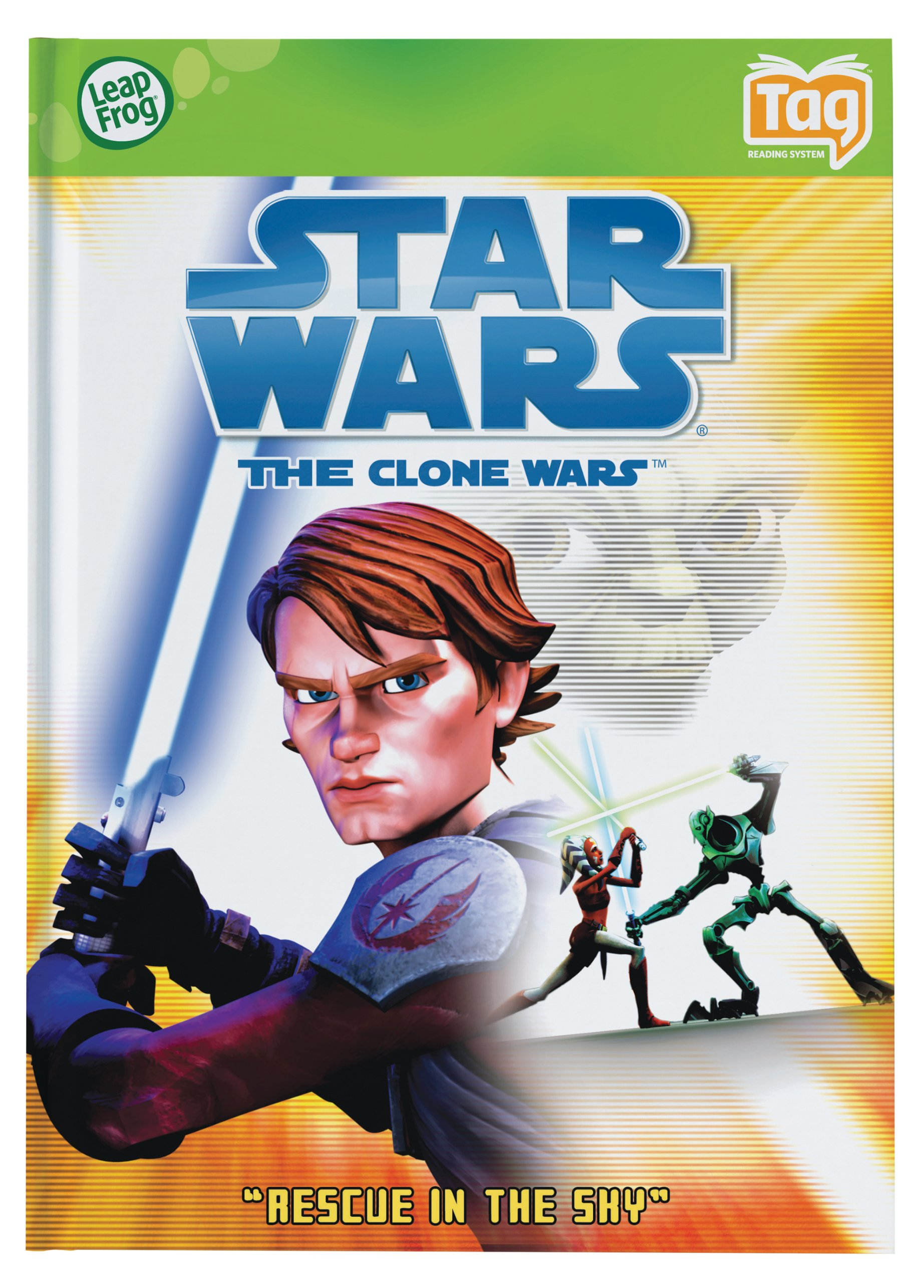 Leapfrog Tag Activity Storybook Star Wars: The Clone Wars: Rescue In The Sky by LeapFrog (Image #4)