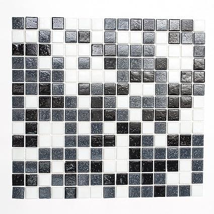 Mosaikfliesen Glasmosaik Fliesen Mosaik K/üche Bad WC Wohnbereich Fliesenspiegel rot orange Mix 4mm #123