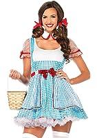 Leg Avenue Costume Jolie Dorothy d'Oz Bleu Taille 1X-2X