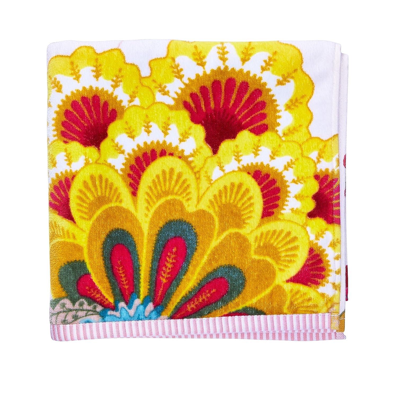 Pip Studio 260256202003 Floral Fantasy-Toalla algodón, 55 x 100 cm, Color Caqui: Amazon.es: Hogar