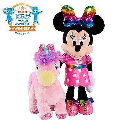 Minnie Walk & Dance Unicorn Feature Plush: Toys & Games