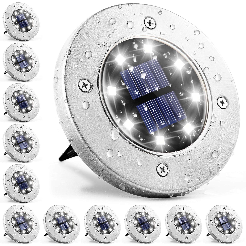 Solpex Solar Lights Outdoor 12 Pack