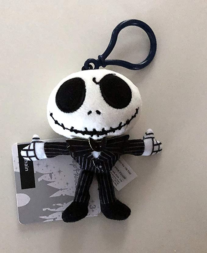 Amazon.com: DisneyParks Jack Skellington llavero cadena ...