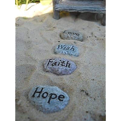 Fairy Garden Fairy Sayings Stepping Stones : Garden & Outdoor