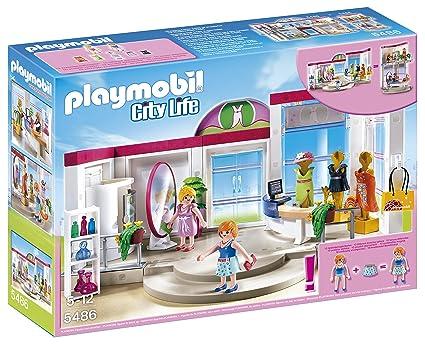 Amazon.com  PLAYMOBIL® 5486 Clothing Boutique Playset  Toys   Games 4e83a38c1d0