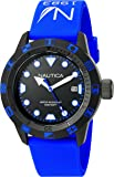 Nautica Unisex NAD10080G NSR 100 FLAG Analog Display Quartz Blue Watch
