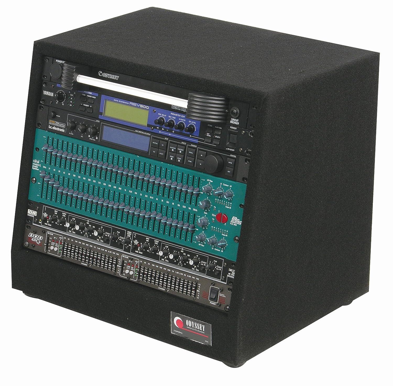 Odyssey CRS08 8 Space Carpeted Studio Rack Odyssey Innovative Designs