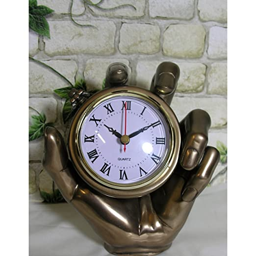 Bronce de farbene Chimenea Reloj mano 18 cm Cronómetro Reloj de ...