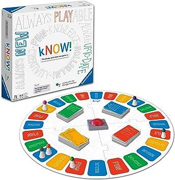 Ravensburger 26071 Know - Tabla interactiva para niños y adultos de 10 años en adelante, juego de preguntas siempre actualizado alimentado por el asistente de Google versión en inglés: Amazon.es: Juguetes y juegos