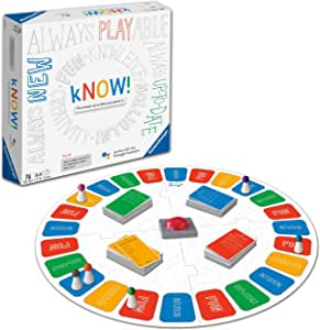Ravensburger 26071 Know Interactive Board Kids & Adults Age 10 Years and Up-The Siempre-Update Quiz Game Powered by Google Assistant-English Version: Amazon.es: Juguetes y juegos
