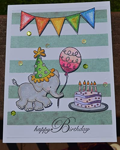 Amazon Happy Birthday Card Greeting Hand Made