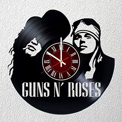 Guns N Roses Art 12 inches / 30 cm Vinyl Record Wall Clock