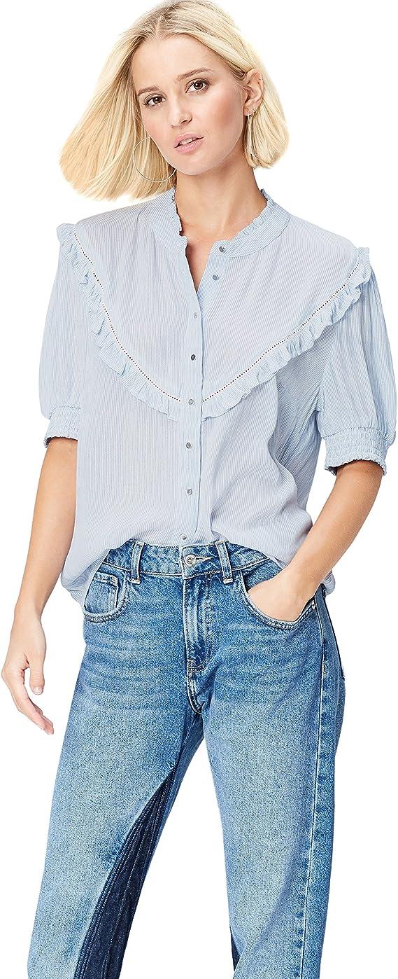 Marca Amazon - find. Camisa Mujer: Amazon.es: Ropa y accesorios