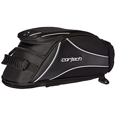 Cortech 8230-0505-12 Black Super 2.0 Magnetic Mount Tank Bag: Automotive