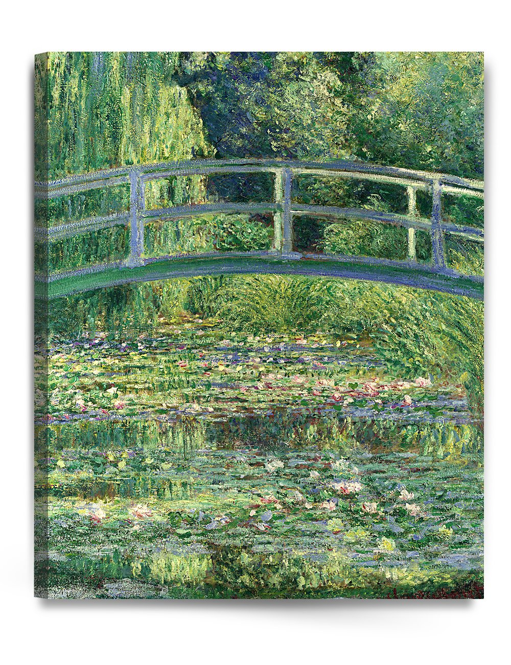 DECORARTS Japanese Water Lily Painting Reproduction Image 1