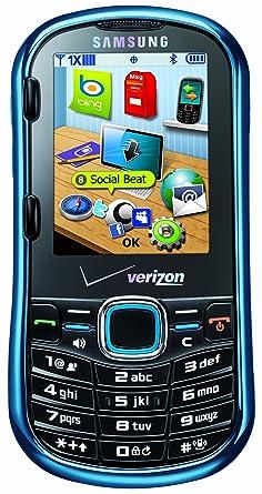 amazon com samsung intensity ii metallic blue verizon wireless rh amazon com Samsung Razor Cell Phone Samsung Intensity 2 vs 3