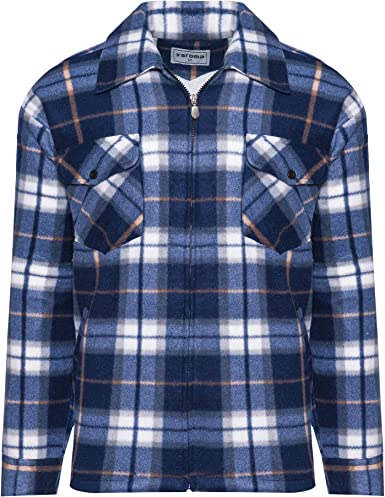 Benk Camisa de trabajo de franela de leñador con forro térmico 01