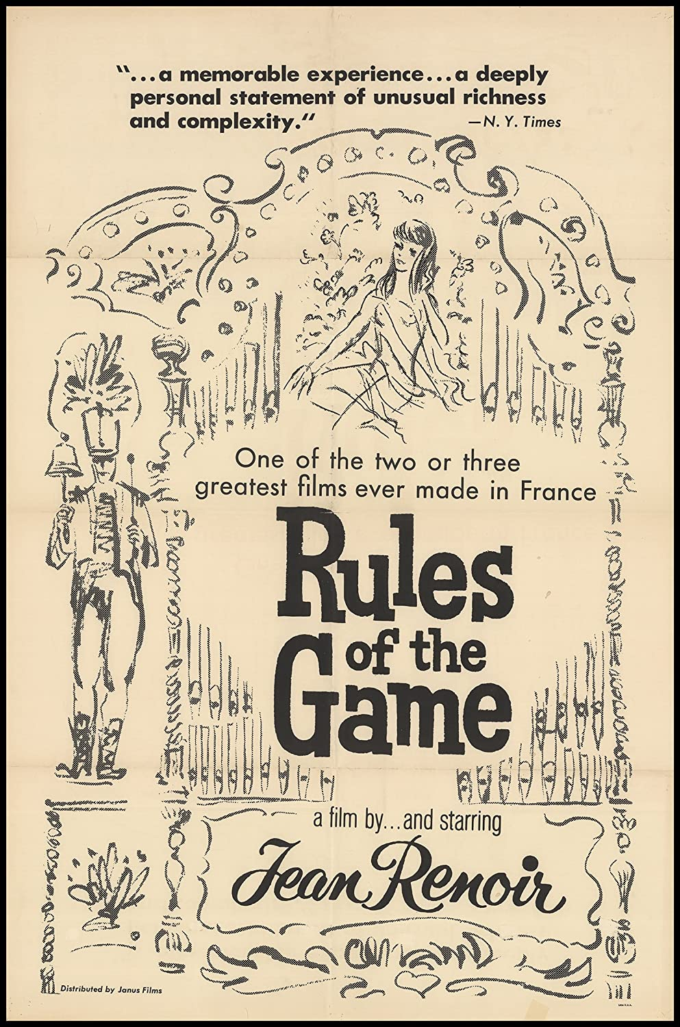 rules of the game original movie poster comedy drama rules of the game 1965 original movie poster comedy drama dimensions 27 x 41 at s entertainment collectibles store