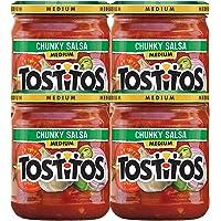 Deals on 4-Pack Tostitos Medium Chunky Salsa, 15.5 Ounce Jar
