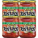 Tostitos Medium Chunky Salsa, 4 Count, 15.5 oz Jars