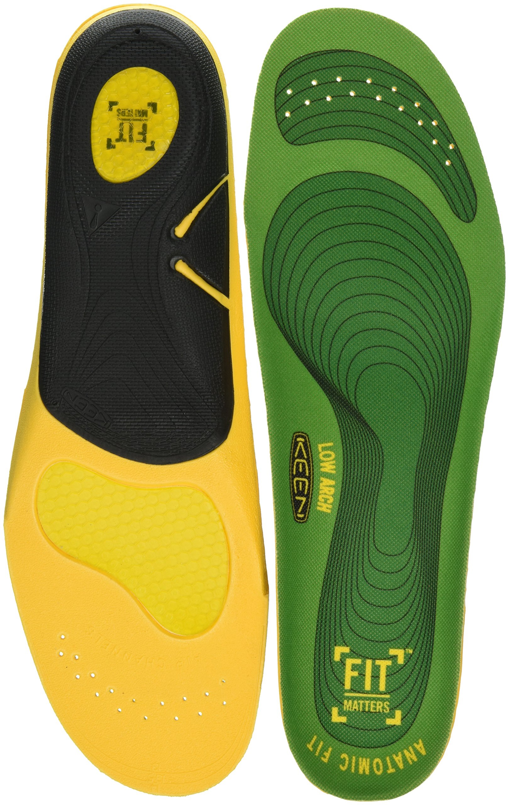 Keen Utility Utility K-30 Low Arch Insole, Green, Small (7-8)