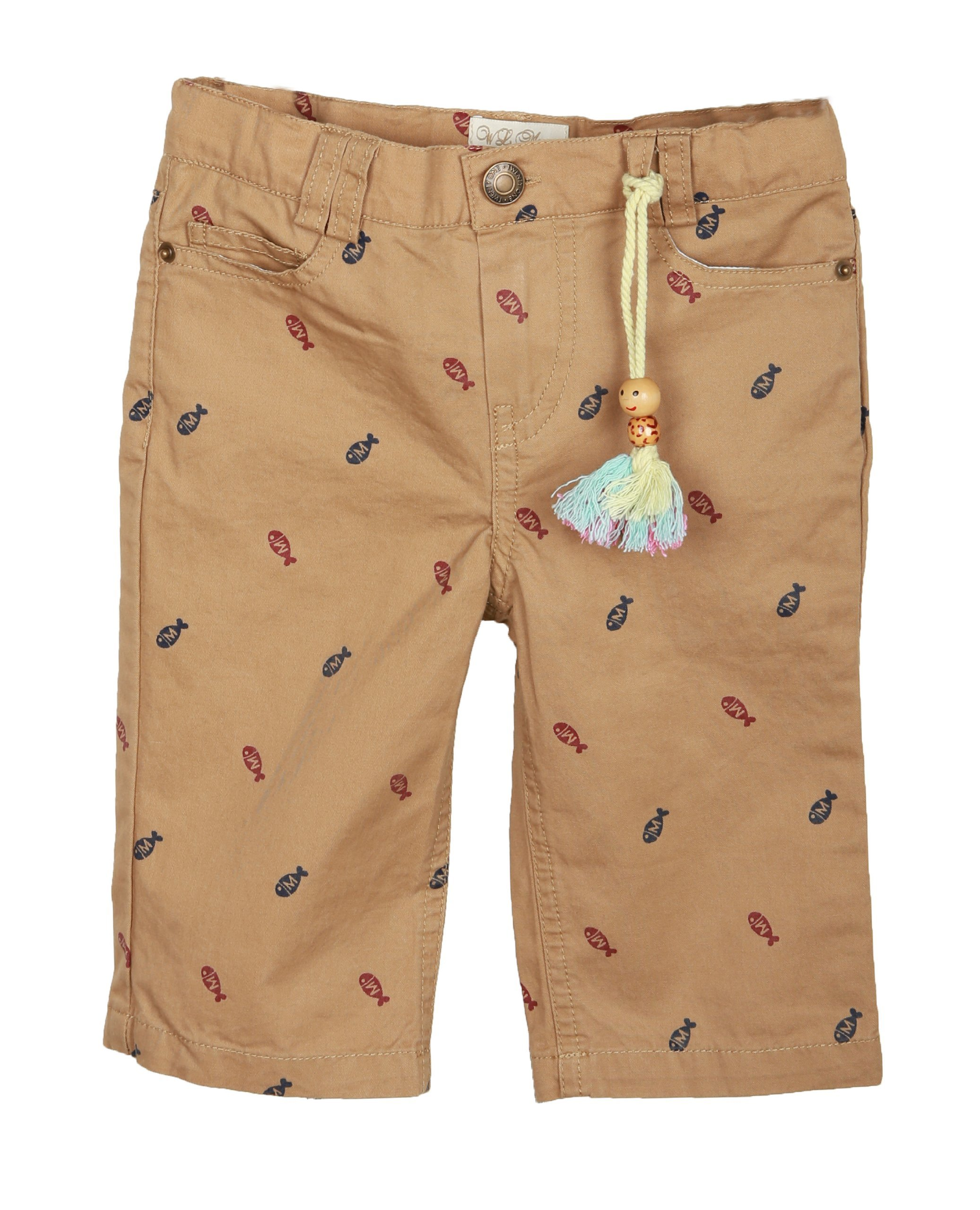 Richie House Little Boys' short pants with zip fly and pockets RH0609-4/5