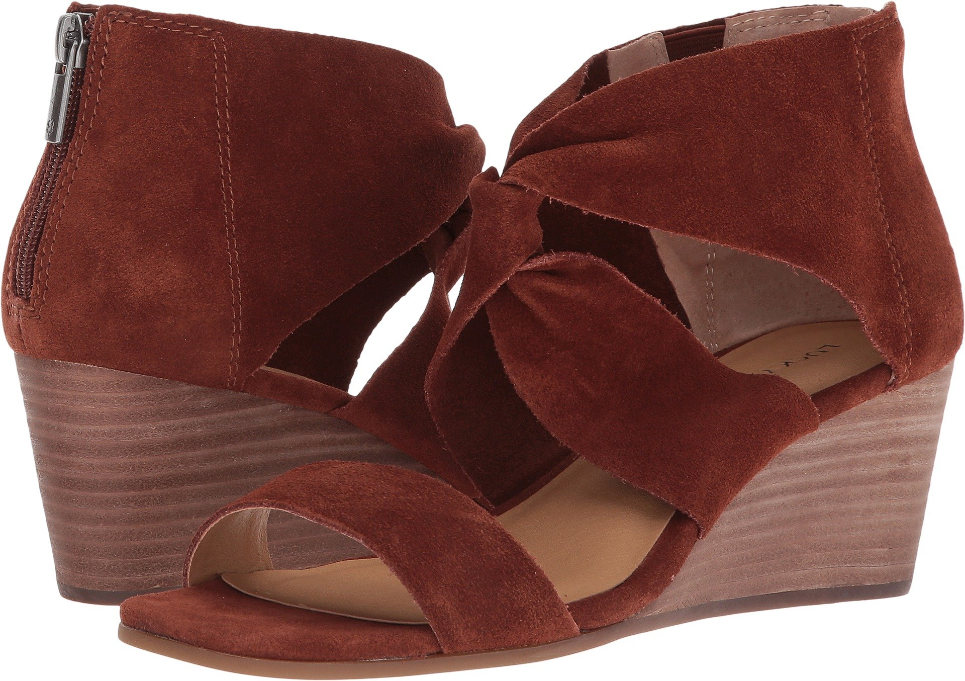 Lucky Brand Women's Tammanee Heeled Sandal, Rye, 7 Medium US