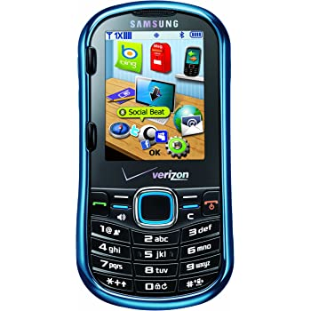amazon com samsung intensity ii metallic blue verizon wireless rh amazon com Samsung Intensity 4 Keyboard Samsung Intensity 1