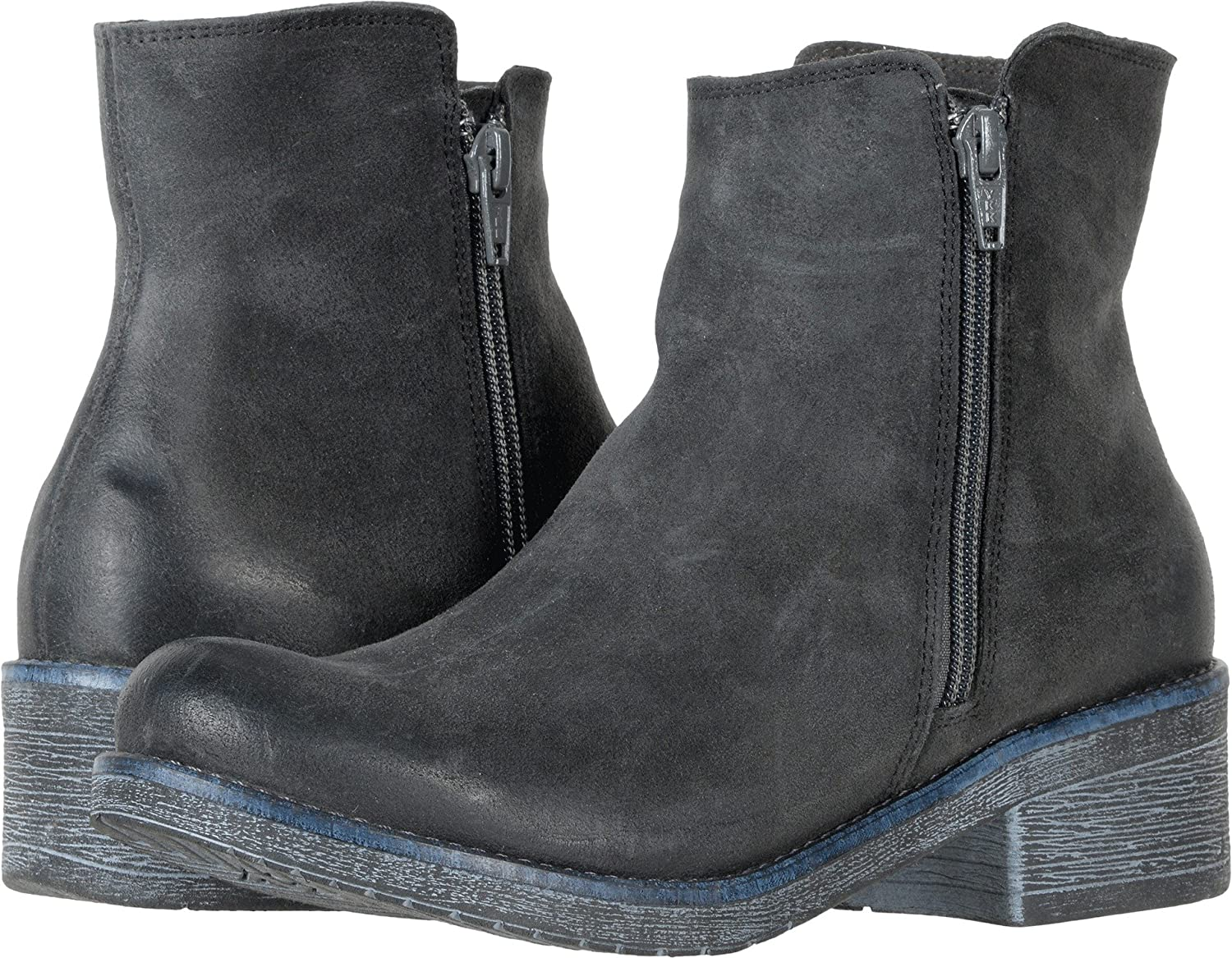 NAOT Women's Wander Ankle Booties B01N13BAWV 39 M EU|Brushed Oily Midnight Suede