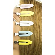 Tearsheet No Bend Hair Clips, Professional, Celebrity hairstyling tool no crease, no mark, no bend great for bangs, pin curl, finger waves, fine hair and thick hair friendly, and makeup application