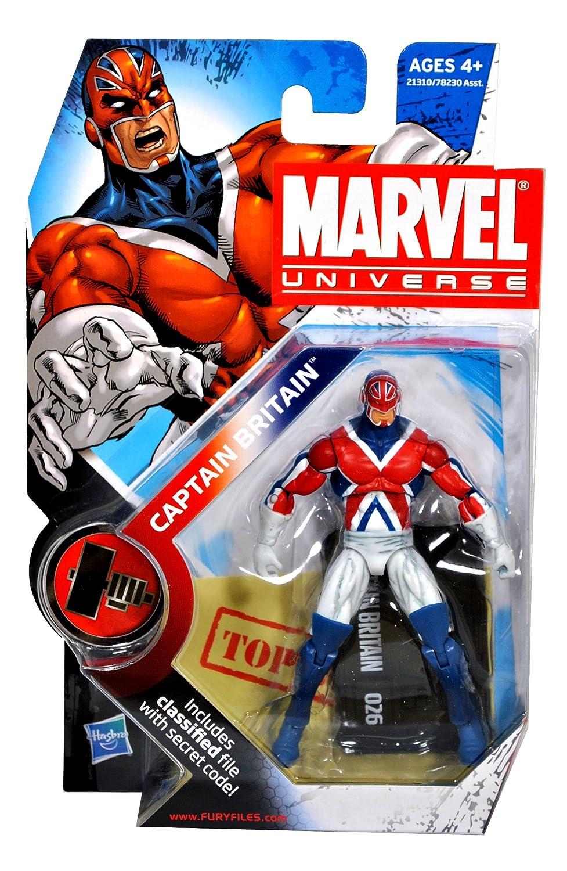 Marvel Universe - - Captain Britain - Universe 3 3/4
