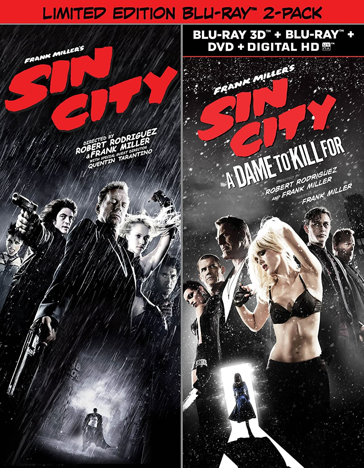 Sin City & Sin City: A Dame to Kill for USA Blu-ray: Amazon.es: Cine y Series TV