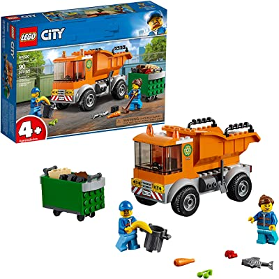 LEGO City Great Vehicles Garbage Truck 60220 Building Kit (90 Pieces): Toys & Games