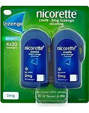 Nicorette Cools 80 Lozenges, 2 mg (Stop Smoking Aid)