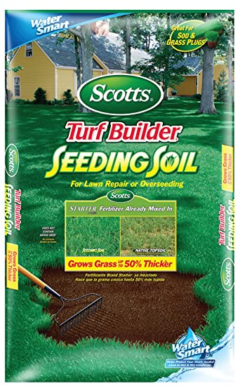 Scotts 79559750 Turf Builder Lawn Soil, 1.5-Cubic Foot (Not Sold in WI