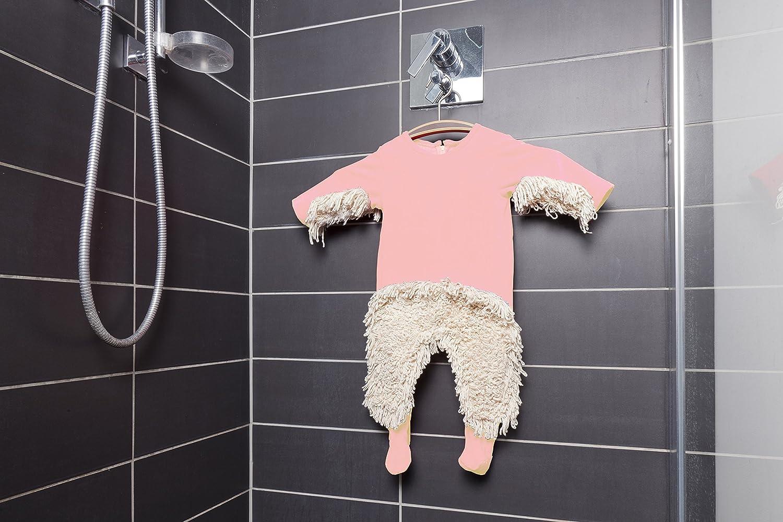 Babymop wischmop strampler = babymop! lustiger strampler rosa
