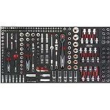 Vigor 6, 3Mm = 1⁄4″ 12, 5mm = 1⁄2″ Steckschlüssel-Werkzeug-Satz für 1000 XL ∙ Anzahl Werkzeuge: 219, 1 Stück, V4586