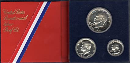 1976 United States Bicentennial Silver Uncirculated Mint  Red Pack Set