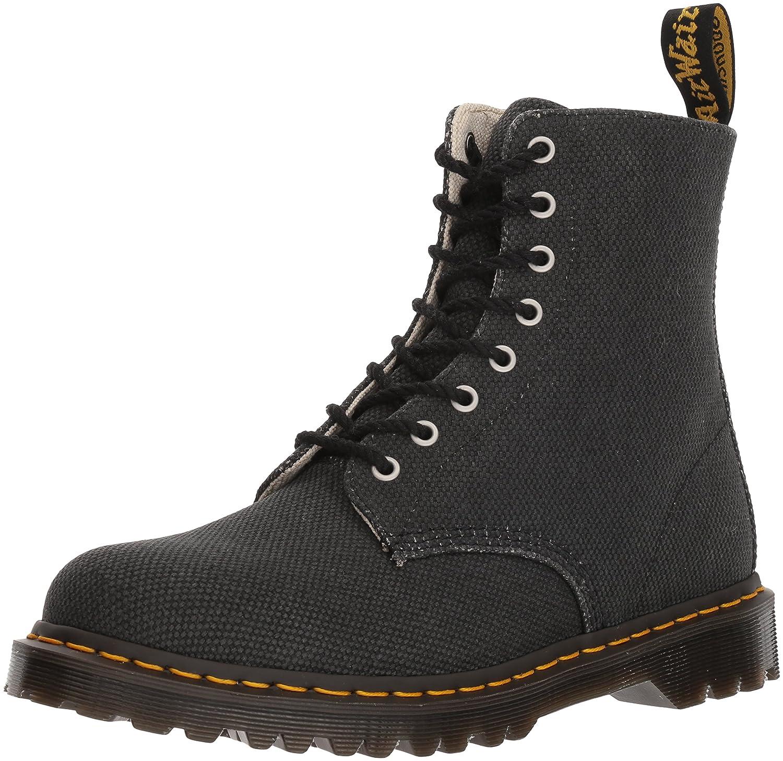 Dr. Martens Black Military Canvas Pascal Fashion Boot B071K1GGW7 9 Medium UK (US Men's 10 US)|Black